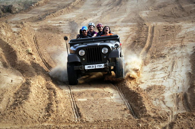 Jeep Safari Day Tour  to Kanota Lake from Jaipur